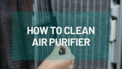 Photo of HOW TO CLEAN AIR PURIFIER?