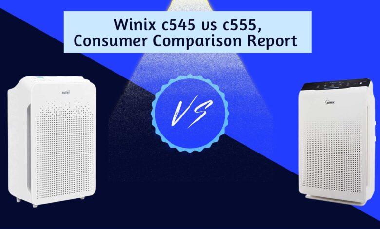 Winix c545 vs c555