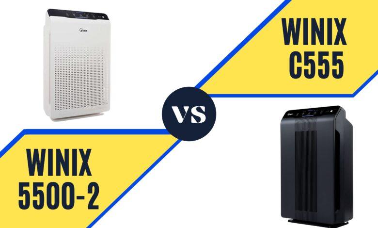 Winix c555 vs 5500-2
